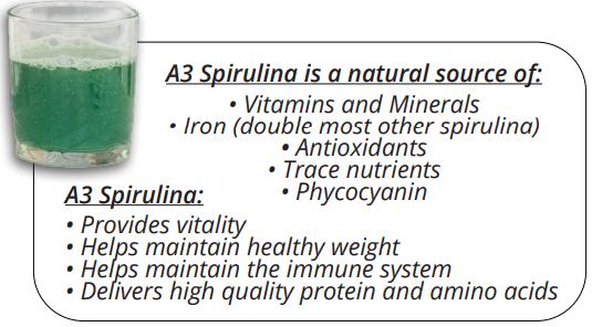 xellis spirulina facts